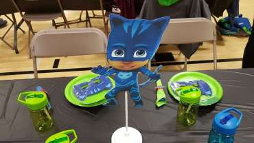 PJ Masks Theme Birthday Party Decoration 3