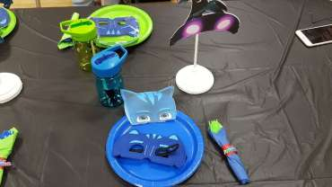 PJ Masks Theme Birthday Party Decoration 4