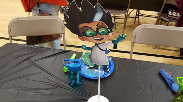 PJ Masks Theme Birthday Party Decoration 5