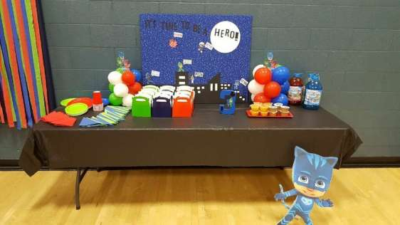 PJ Masks Theme Birthday Party Decoration