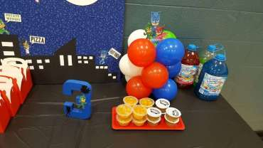 PJ Masks Theme Birthday Party Food 2