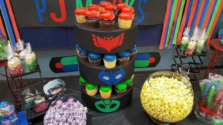 PJ Masks Theme Birthday Party Food