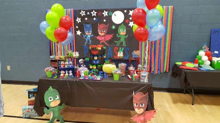 PJ Masks Theme Birthday Party Venue 2