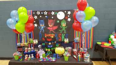 PJ Masks Theme Birthday Party Venue