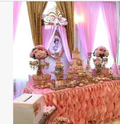 Princess Theme Baby Shower Decoration 3
