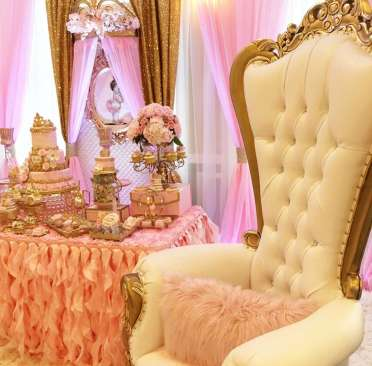 Princess Theme Baby Shower Decoration 7