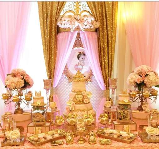 Princess Theme Baby Shower Decoration