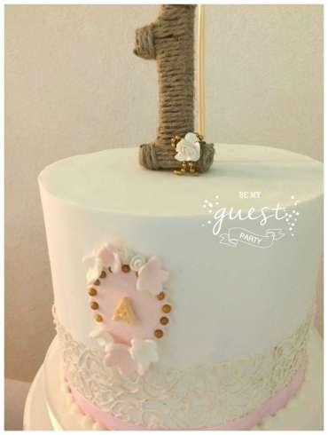 Vintage Theme Birthday Party Cake 2