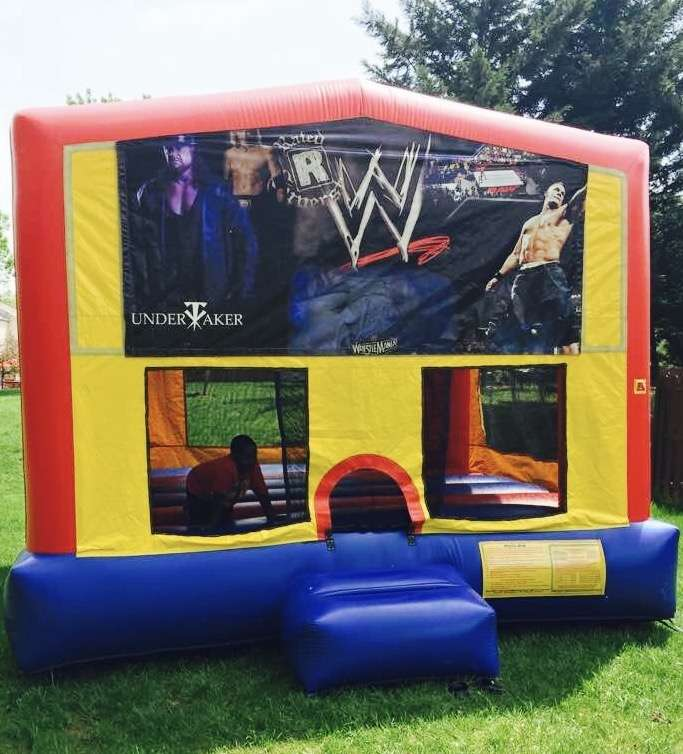 WWE Theme Birthday Party Activity