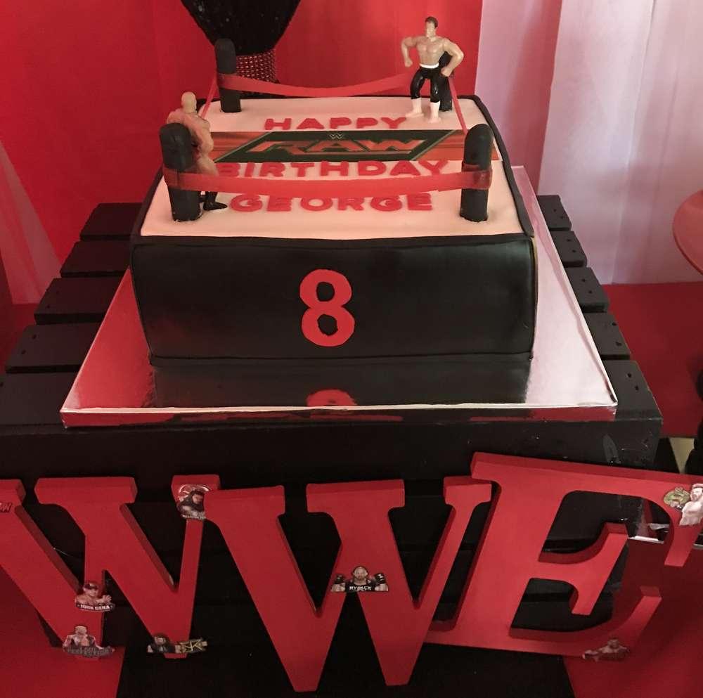 WWE Theme Birthday Party Decoration Ideas VenueMonk Blog