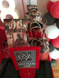 WWE Theme Birthday Party Decoration 2
