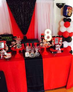 WWE Theme Birthday Party Decoration 3