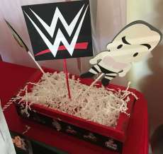 WWE Theme Birthday Party Decoration 5