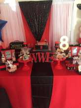 WWE Theme Birthday Party Decoration