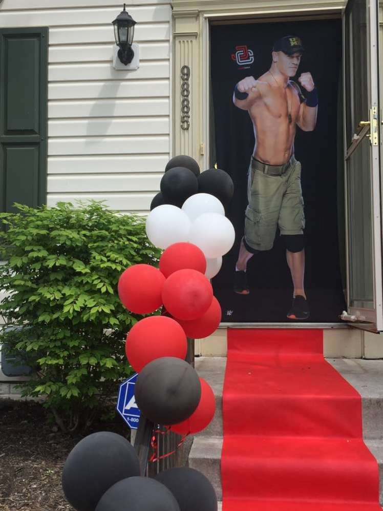 WWE Theme Birthday Party Entrance