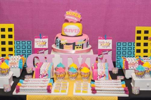 Barbie Theme Birthday Party Cake