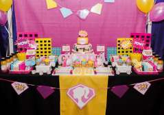 Barbie Theme Birthday Party Decoration 3