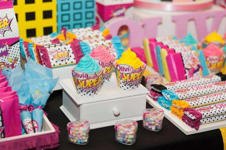 Barbie Theme Birthday Party Food 1