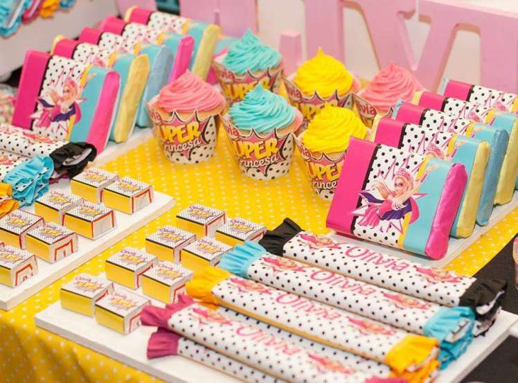 Barbie Theme Birthday Party Food 3