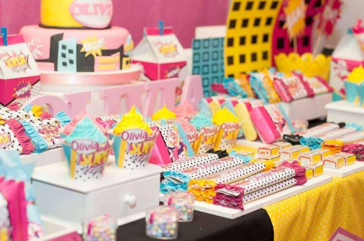 Barbie Theme Birthday Party Food 4