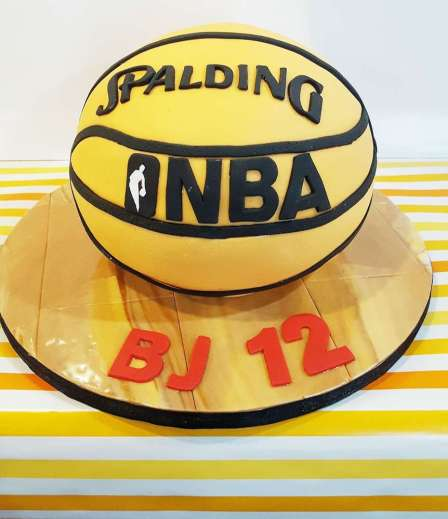 Basketball Theme Birthday Party Cake 2