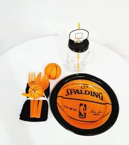 Basketball Theme Birthday Party Decoration 10