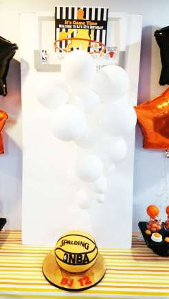 Basketball Theme Birthday Party Decoration 3