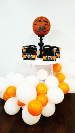 Basketball Theme Birthday Party Decoration 5