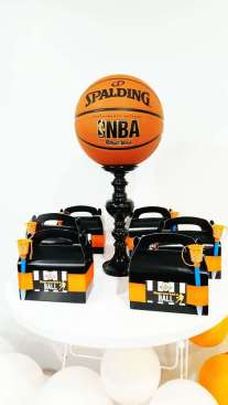 Basketball Theme Birthday Party Decoration