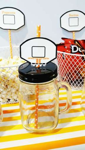 Basketball Theme Birthday Party Food 4