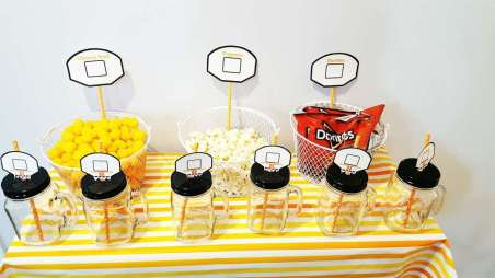 Basketball Theme Birthday Party Food 6