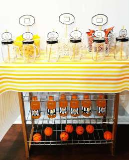 Basketball Theme Birthday Party Food 7