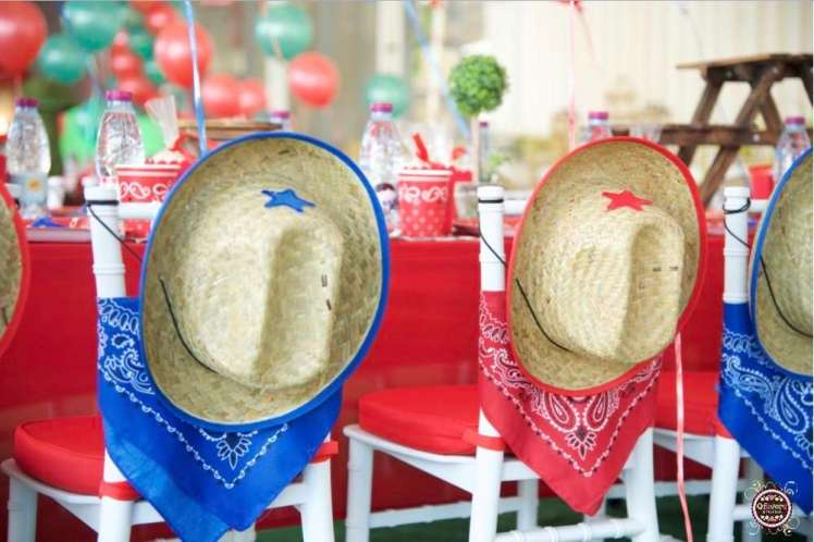 Cowboy Theme Birthday Party Decoration 3