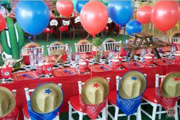 Cowboy Theme Birthday Party Venue 2