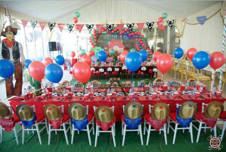 Cowboy Theme Birthday Party Venue