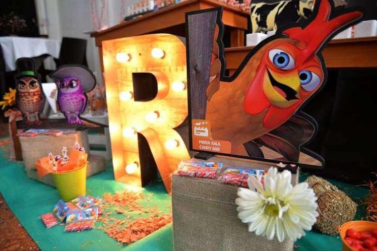Farm Theme Birthday Party Decoration