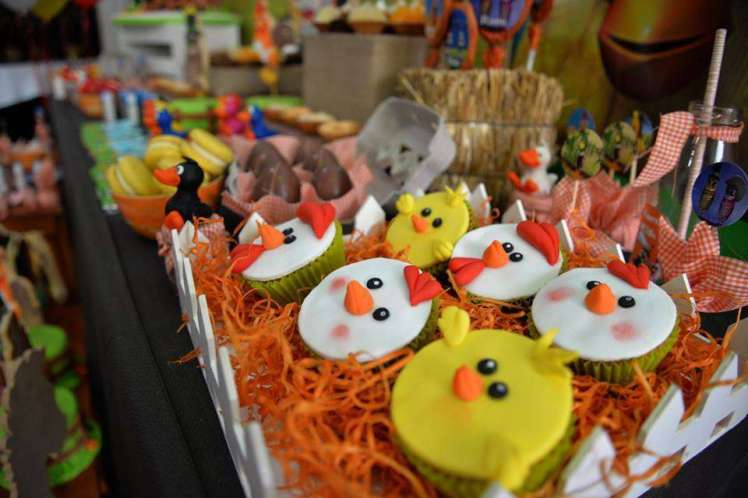 Farm Theme Birthday Party Food