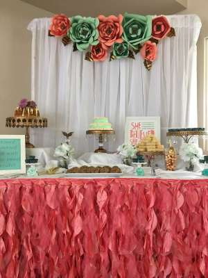 Floral Theme Birthday Party Decoration 4