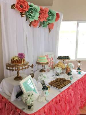 Floral Theme Birthday Party Decoration 5