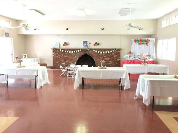 Floral Theme Birthday Party Venue 5