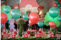 Little Red Riding Hood Theme Birthday Party Decoration 2