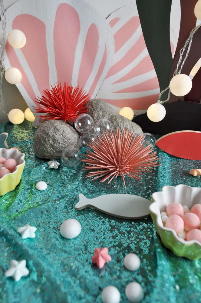 Mermaid Theme Birthday Party Decoration 4