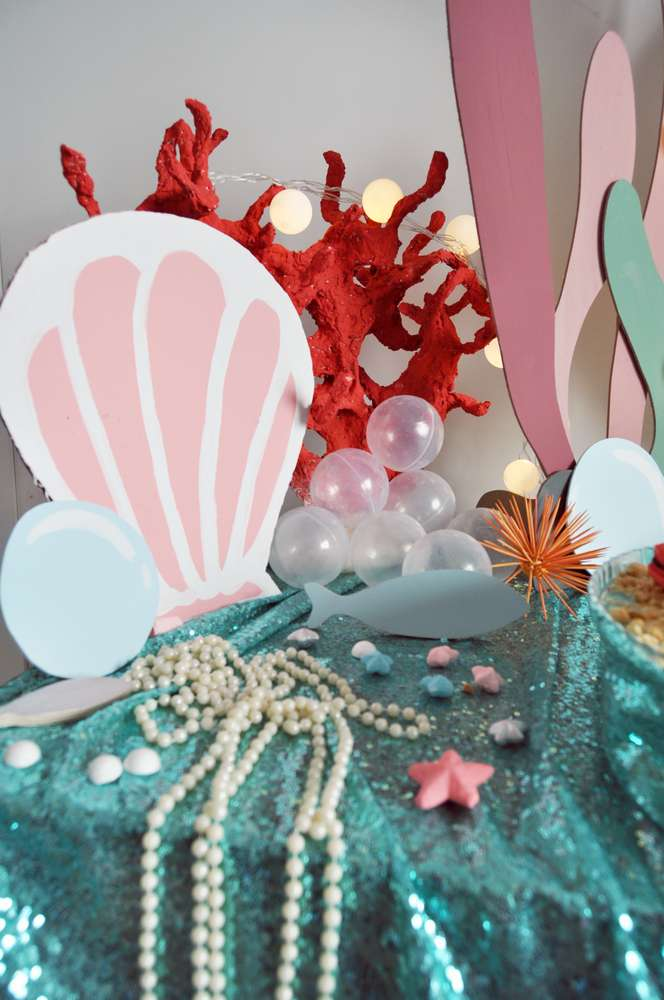 Mermaid Theme Birthday Party Decoration 8