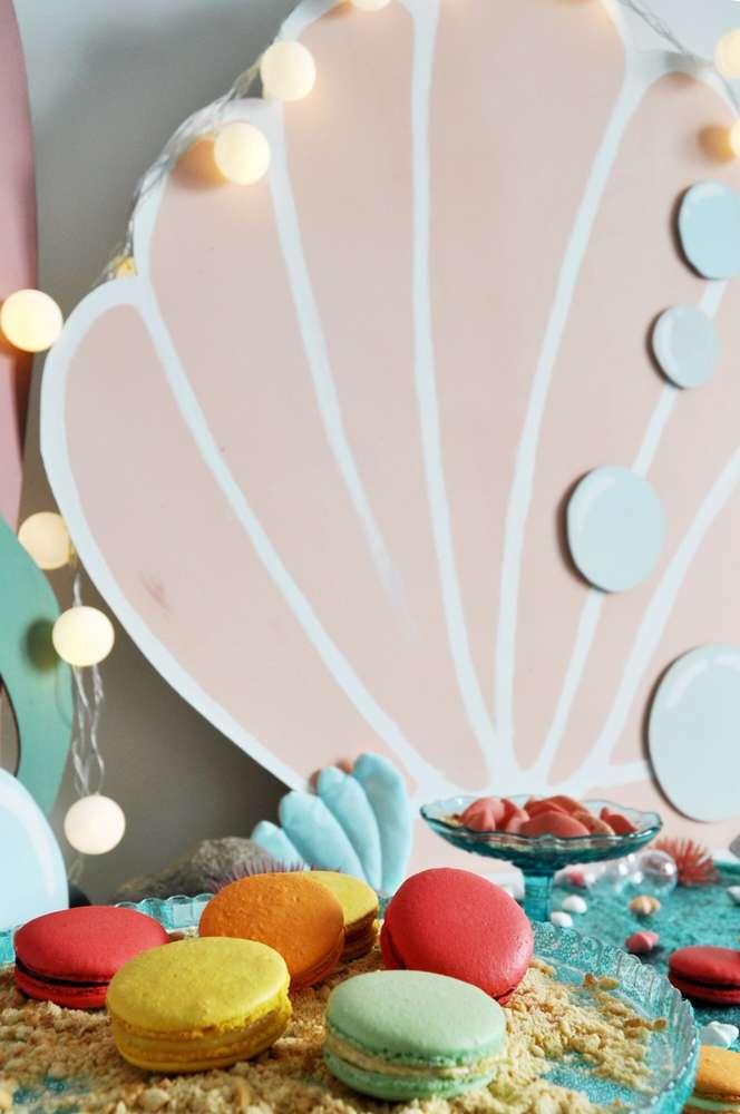 Mermaid Theme Birthday Party Food 3