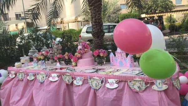 Princess Theme Royal Birthday Party Decoration 5