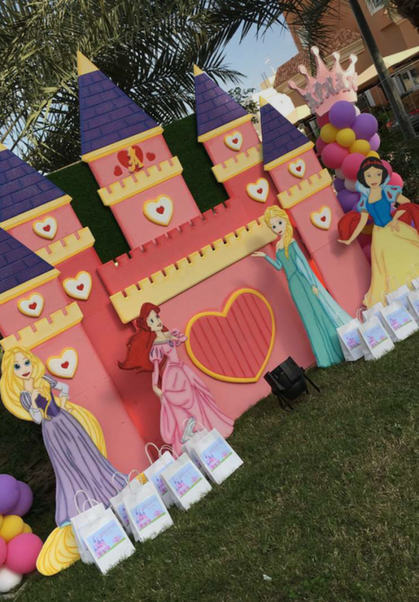 Princess Theme Royal Birthday Party Decoration