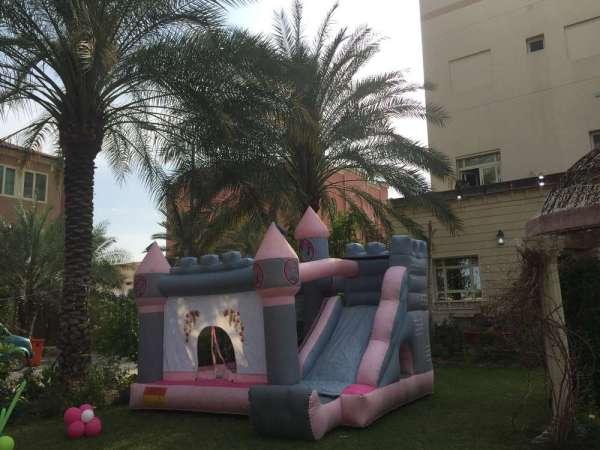 Princess Theme Royal Birthday Party Play Area