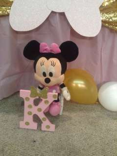 Royal Minnie Mouse Theme Birthday Party Decoration 3