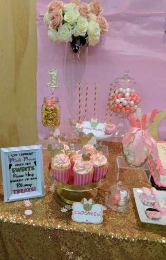 Royal Minnie Mouse Theme Birthday Party Food 2