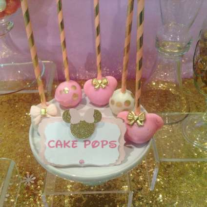 Royal Minnie Mouse Theme Birthday Party Food 6